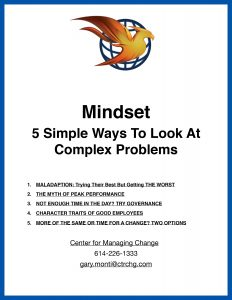 Mindset - 5 Simple Ways To Look At Complex Problems
